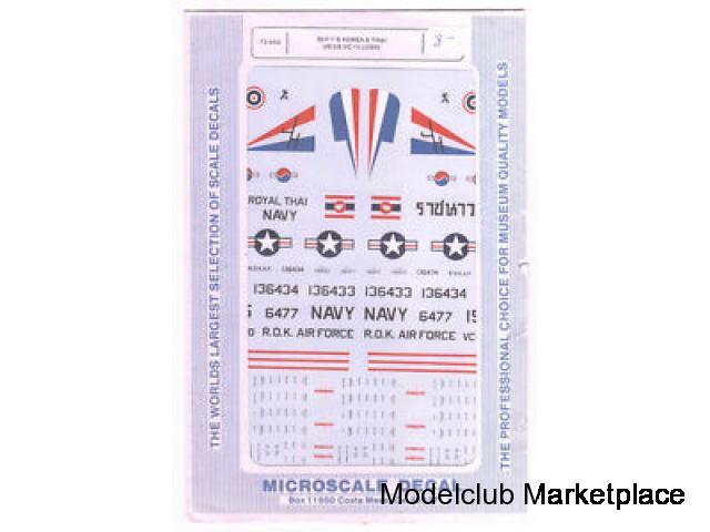 Microscale 72-442 S2F-1 Tracker USN Korea & Thailand
