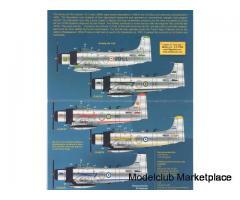 Zotz Decals 72/026   AD-4N Skyraider in Africa