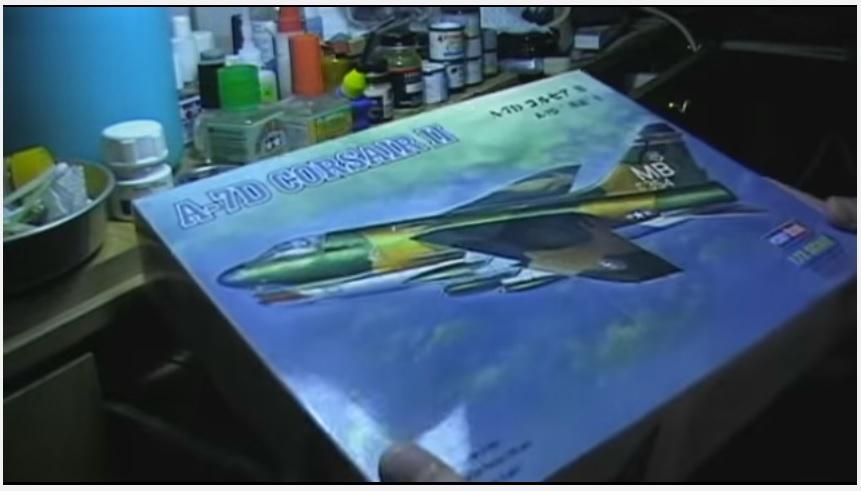 A-7D Corsair 1/72, Hobby Βoss - part 1