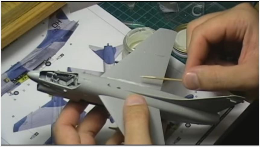 A-7D Corsair 1/72, Hobby Βoss - part 2